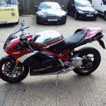 Ducati 1198 Corse Profile