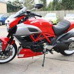 Ducati Diavel Profile