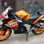 Honda CBR125R Profile