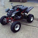 Yamaha Raptor Quad Profile