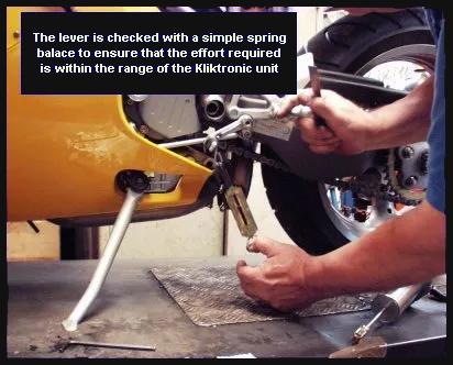 Kliktronic Installation Ducati