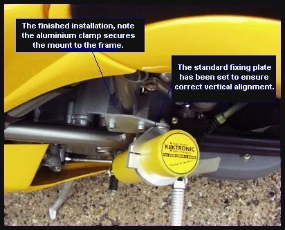 Kliktronic Ducati Installation